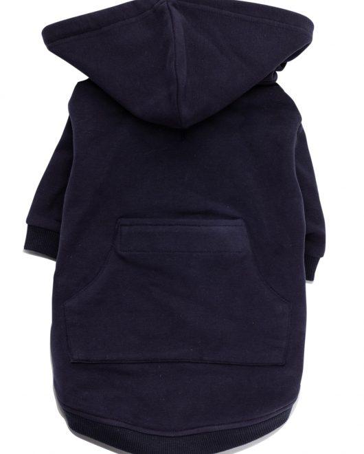 navy dog hoodie 2